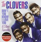 CLOVERS - Don't You Know I Love You And Other Favorites - CD - **SEALED/NEW**