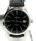 Jacques Lemans Animus Men's Swiss Made Quartz G-159A Stainless Leather Watch