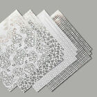 Stampin Up Flowering Foils DSP 12x12 12 sheets New + Free Card