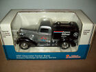 LIBERTY CLASSICS 1937 SILVER CHEVROLET AMOCO TANKER TRUCK BANK, DIE-CAST, VGC