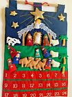 Vintage Christmas Kubla Kids Nativity Advent Calendar Holiday