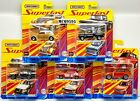 MATCHBOX 2020 SUPER FAST COMPELET SET 5 CAR CHEVY C 10 FORD NISSAN IN HAND