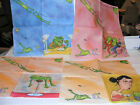 PAPER NAPKINS ANIMALS FROGS COCKTAIL SIZE 4 IN LOT   4 NAPKINS