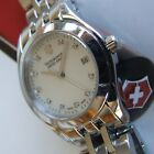 VicTorinoX SWISS ARMY~vRaRe MOP DIAMOND DIAL Polished ALLIANCE~Sapphire+Bracelet