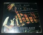 BRIAN MAY WITH CARMINE APPICE'S GUITAR ZEUS, NOBODY KNEW, CD SINGLE RARE!