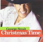 GEORGE STRAIT - Christmas Time - CD - **Excellent Condition**