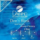 Don't Blink [accompaniment/performance Track] (daywind S) - Original Score - NEW