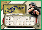 2017 Topps Triple Threads JEFF BAGWELL Auto AUTOGRAPH JERSEY Astros 13 18