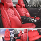 Luxury 5-sits Car Seat Cover Top Leather Cushion Interior For Toyota Honda Lexus