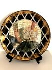 Laurel WilderWhite RhododendronLtd EditionPlateGold LeafHand PaintedSIGNED