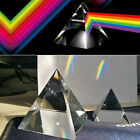 40 100mm Rainbow Optical Glass Crystal Pyramid Prism For Natural Sciences