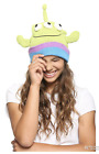 DISNEY PIXAR TOY STORY ALIEN FACE WATCHMAN BEANIE HAT & GLOVE SET - NEW - UNISEX