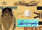 2004 DONRUSS MATERIALS INK JERSEY AUTO DALE MURPHY M1-7 -- 2 COLOR JERSEY
