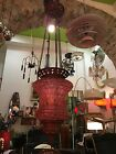 Lamp Suspension First 900 Glass Murano Painting Antique Chandelier