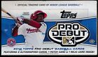 2013 Topps PRO DEBUT Baseball Factory Sealed Hobby Box