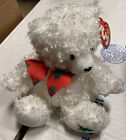 Ty Beanie Baby Merrybelle the Holiday Bear 2005 - Christmas EUC With Tag