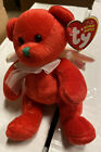 Ty Beanie Babies Beanies - Hark The Red Angel Holiday Bear  - New With Tag
