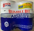 BUMBLE BEE Solid White Albacore Tuna in Water 8 pk 5 oz SHIPS FREE