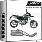ARROW HOMOLOGATED EXHAUST THUNDER ALUMINIUM HONDA FMX 650 05/08