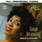 DAKOTA STATON - Time To Swing - CD - Extra Tracks - **Excellent Condition**