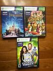XBOX 360 Kinect Game Lot Disneyland Adventures Kinect Adventures Biggest Loser