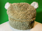 Patagonia Unisex Baby Toddler Bear Furry Friends Fleece Hat 12M - El Cap Khaki