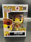 KID FLASH Funko Pop HOT TOPIC Exclusive DC Comics & Free Pop Protector