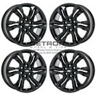 18 CHEVROLET BLAZER GLOSS BLACK EXCHANGE WHEELS RIMS FACTORY OEM 5934 2019 2021