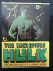 1979, Topps Incredible Hulk, 36 Pack, Wax Box!!!