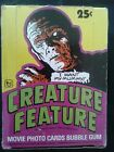 1980, Topps, CREATURE FEATURE, 36 Pack, Wax Box!!!!