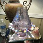 BEAUTIFUL RARE FENTON FAIRY LAMP LIGHT STANDS 5 1 2 INCHES TALL