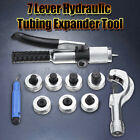 7 Lever Hydraulic Tubing Expander Swaging Punches Tools HVAC Tube Piping Pipe