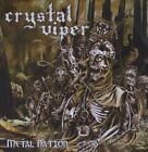 CRYSTAL VIPER - Metal Nation - CD - **Mint Condition** - RARE
