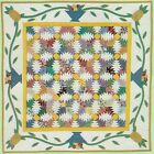 PINEAPPLE PICNIC Piecing  Applique Quilt Pattern Removed from a Magazine