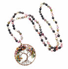Tree of Life Necklace Hand Knotted Gemstone Necklace The Best Birth