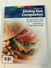 Weight Watchers 2004 Dining Out Companion  Excellent condition