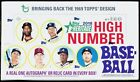 2018 Topps HERITAGE HIGH NUMBER Baseball Factory Sealed Hobby Box Soto Acuna RC?