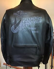 HARLEY DAVIDSON Mens XL Vented Heavyweight Leather Jacket in Great Condition