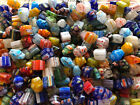1 4 pound mixed colors Millefiori glass BEADS Jewelry Making Supply lot
