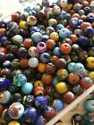 1 4 LB mixed colors Millefiori glass BEADS Jewelry Making Supply Boho Hippie