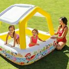 Sun  Shade Inflatable Kids Infant Swimming Pool with Canopy