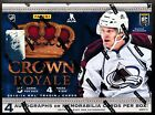2013-14 Panini CROWN ROYALE Hockey Factory Sealed Hobby Box