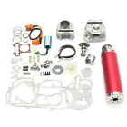 100cc Big Bore Power Pack Exhaust For GY6 50cc QMB139 Chinese Scooter Parts US