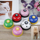 Pet training bell dog toys Puppy Pet Call Dog paw print ringer pet supplie PL