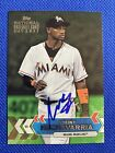 2017 Topps National Baseball Card Day Adeiny Hechavarria Auto Signed Autograph