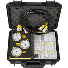 Hydraulic Pressure Test Kit 600Bar 60U Digital for Caterpillar Komatsu Excavator