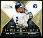 2017 Topps TRIPLE THREADS Baseball Factory Sealed Hobby Box