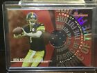 2004 Bowman BEN ROETHLISBERGER fabric of the future RC Steelers