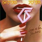 TWISTED SISTER - Love Is For Suckers - CD - Original Recording Remastered Mint
