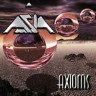 ASIA - Axioms - 2 CD - Box Set Import - **BRAND NEW/STILL SEALED** - RARE